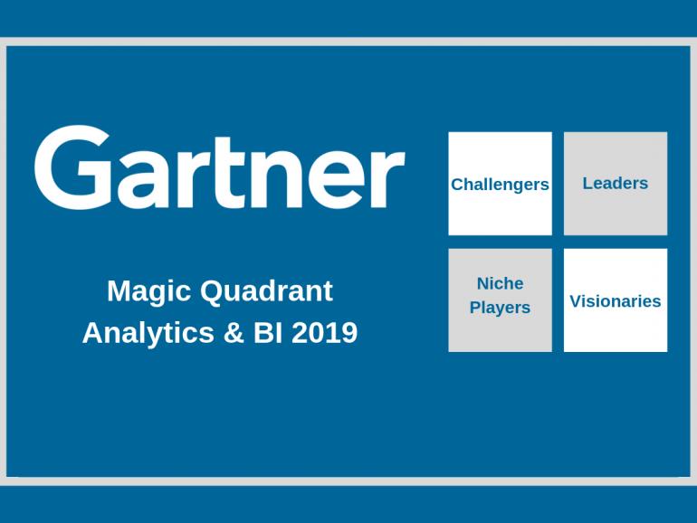 Cuadrante Mágico de Gartner para Analytics y BI 2019