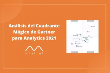 Análisis Cuadrante de Gartner Analytics 2021