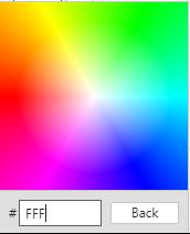 selector de colores pbi